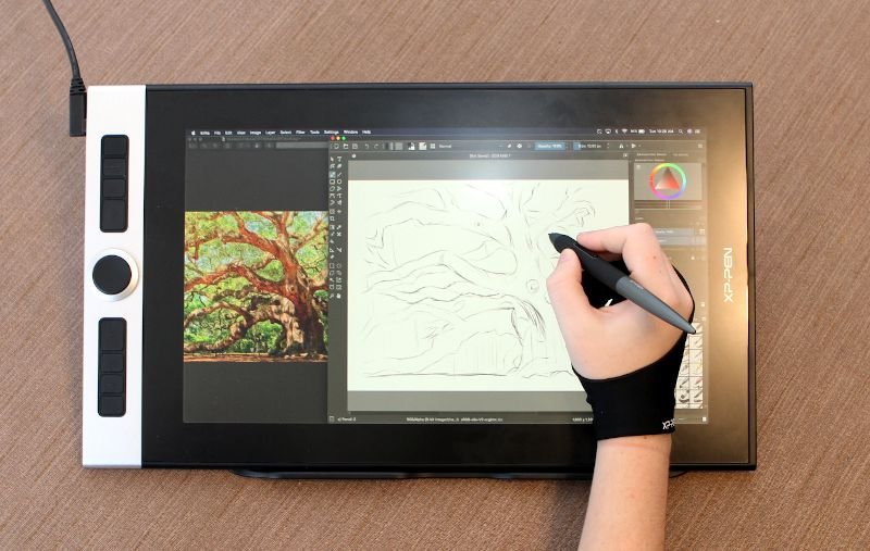 XP-Pen Innovator Display 16 drawing digitizer display review - Part 1 - The  Gadgeteer