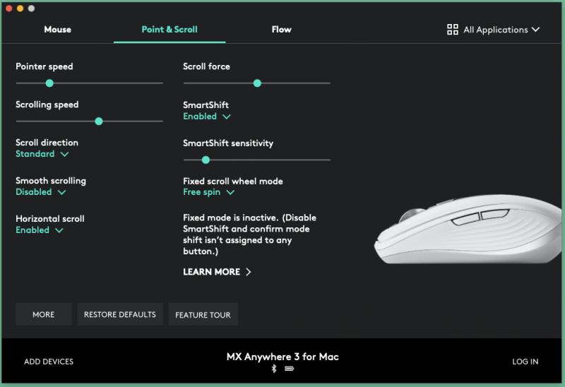 logitech mx mouse 15