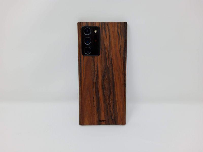 Toast Real Wood Phone Wrap