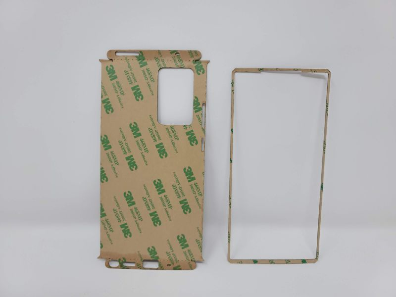 Toast Wood Phone Wrap - Back
