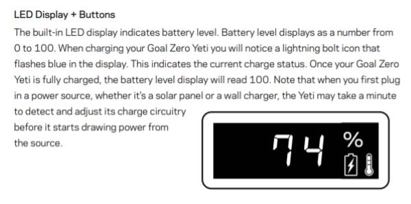 Goal Zero Yeti 200X 12