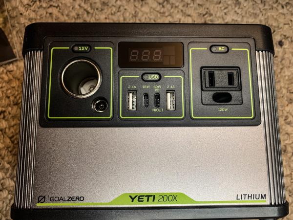 Goal Zero Yeti 200X 2