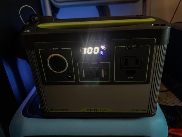 Goal Zero Yeti 200X 7
