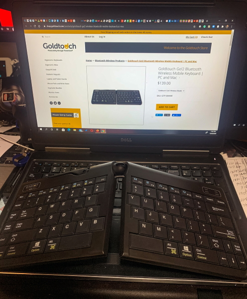 Goldtouch Keyboard 1