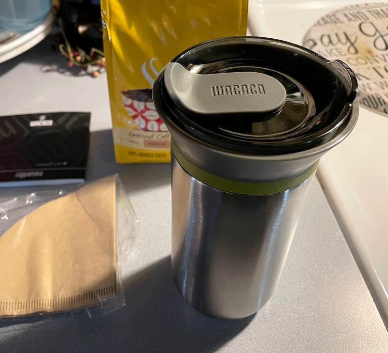 Wacaco Cuppamoka coffee maker 01