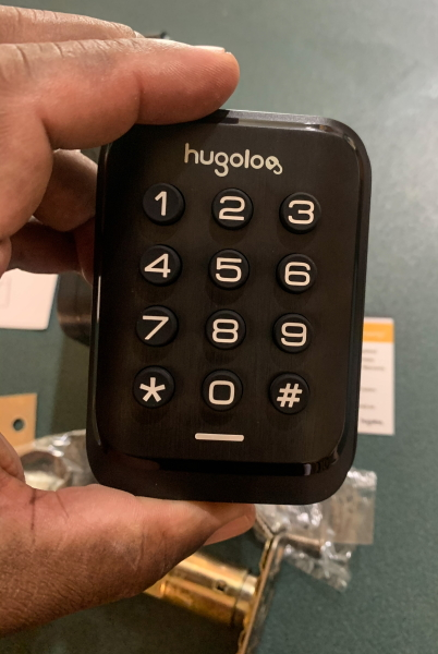 Hugolog Electronic Deadbolt Lock 2