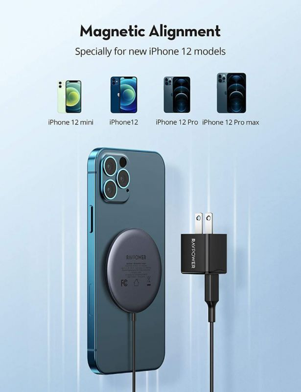 RAVPower Magnetic Charger 01