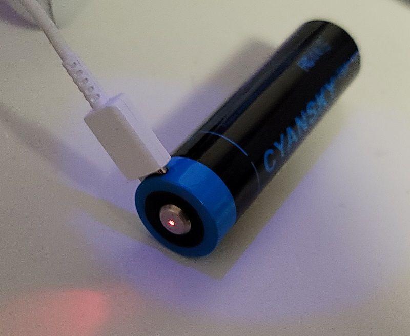 cyansky flashlight 13