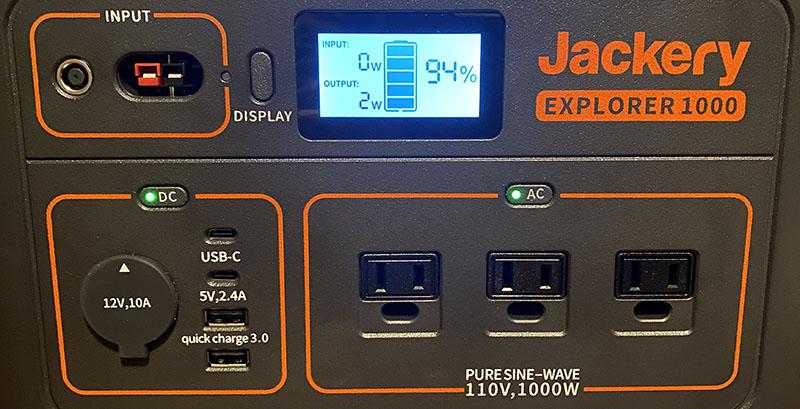 jackery SolarGenator1000 7