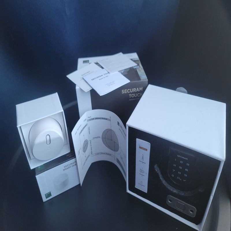Securam Touch Smart Lock Deadbolt 1