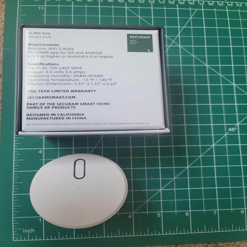 Securam Touch Smart Lock Deadbolt 4