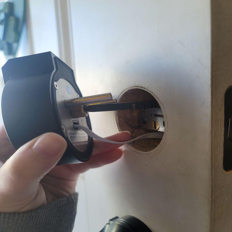 Securam Touch Smart Lock Deadbolt 5