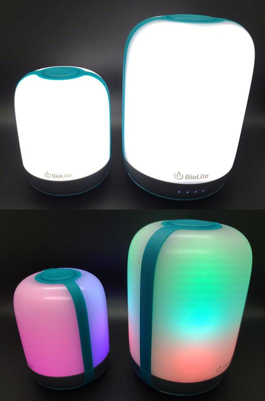 BioLite AlpenGlow 250 & 500 rechargeable lanterns