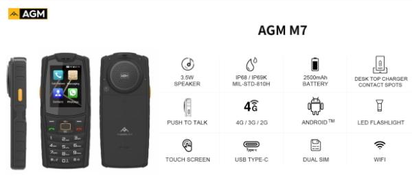 AGM M7 3