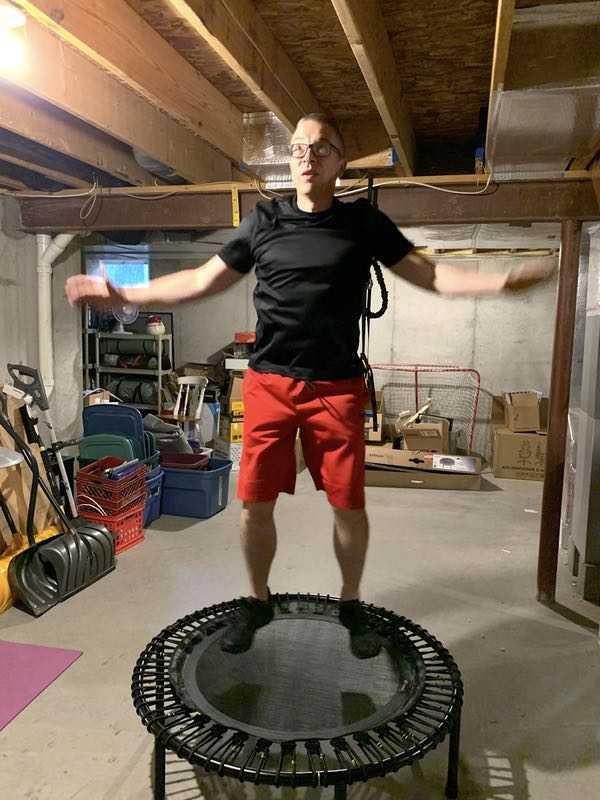 Bellicon Go Exercise Trampoline 19