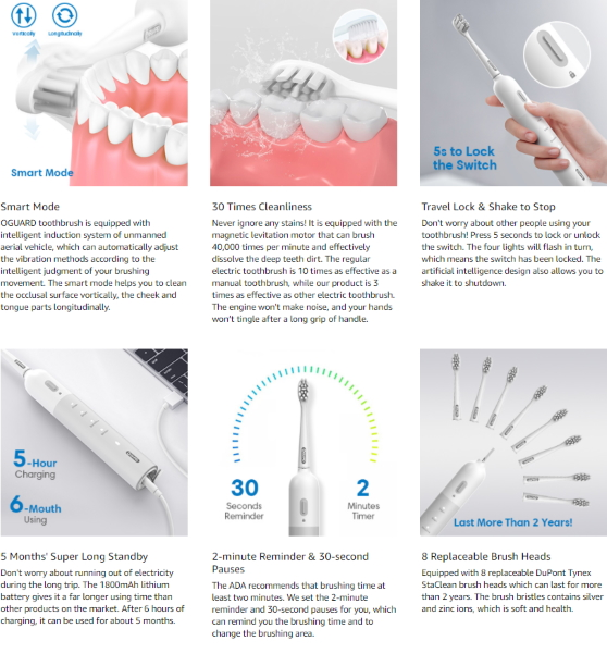 Oguard Smart Toothbrush 7