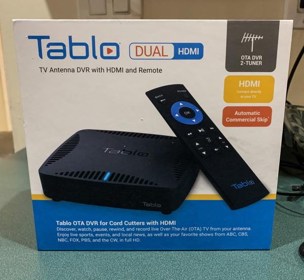 Tablo Dual HDMI 1