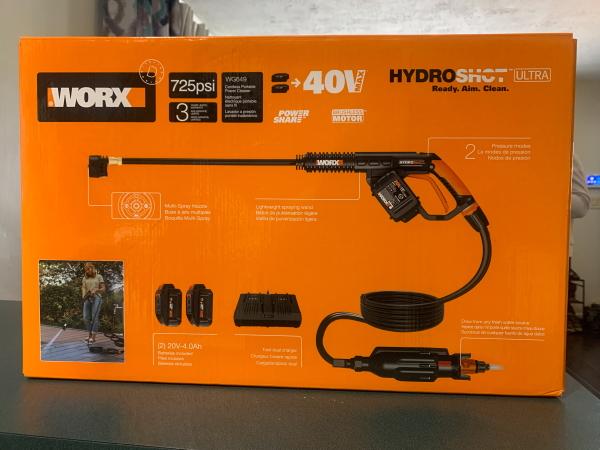 WORX Hydroshot Ultra WG649 2