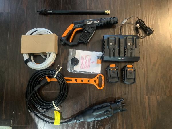 WORX Hydroshot Ultra WG649 3