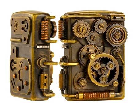 steampunk lighter 1