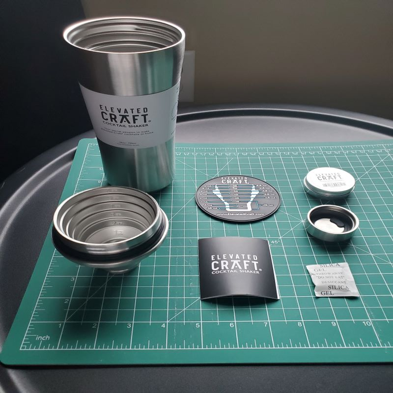 Elevated craft cocktail shaker 1