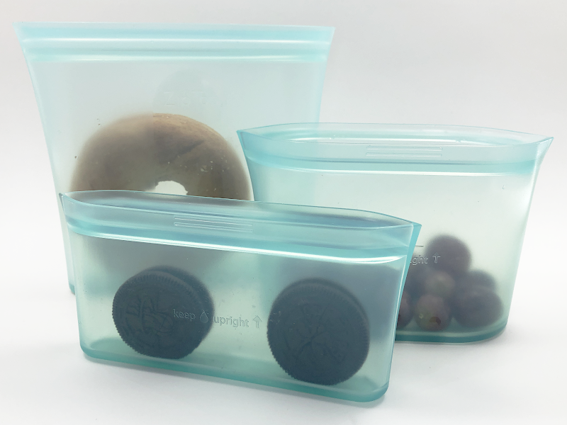 reusable silicone food container