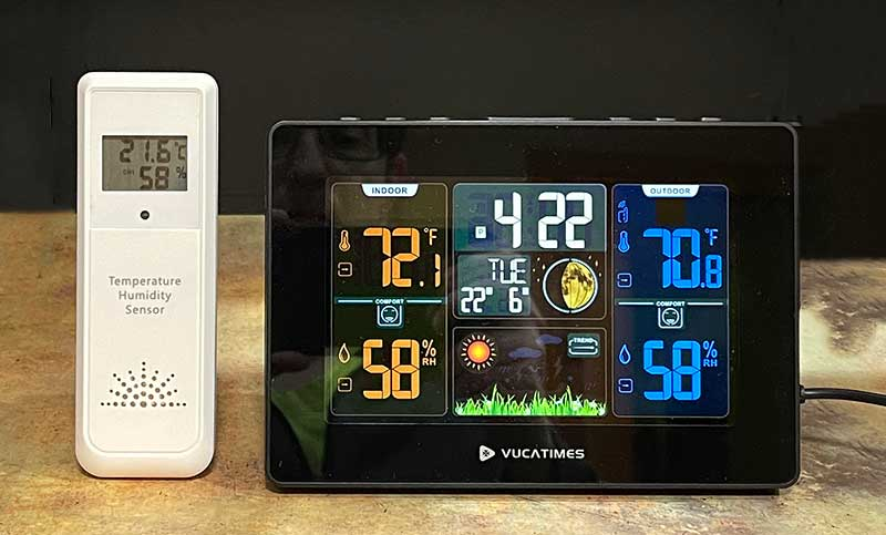 VUCATIMES W1 Weather Station